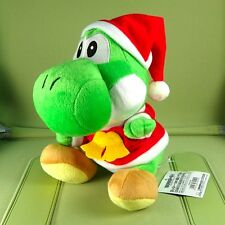 8 inch Green Yoshi Christmas Super Mario Brother Plush Doll Figure Toy
