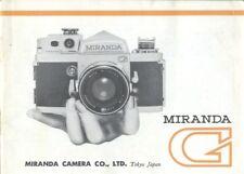 Miranda G Instruction Manual