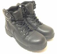 "Timberland PRO Women's 72399 Titan 6"" Safety-Toe Boots, Black - Size 8.5 M US"