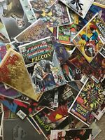 COMIC BOOK MIX LOT of 20 BRONZE TO MODERN AGE DC MARVEL INDY BOOKS!!!!