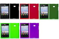 Faceplate Hard Cover Case for LG Optimus L3 E400 E405 Phone