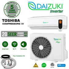 24000 BTU Air Conditioner Mini Split 20 SEER INVERTER AC Ductless Only Cold 220V