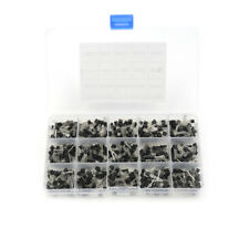 New 600Pcs (15 Value x 40 Pcs)/set Transistor TO-92 Assortment Box Kit DSUK