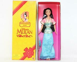 New Disney's Mulan Barbie Doll Satiny Shimmer Mattel In Original Box 1998 NIB