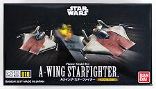 Bandai Star Wars Vehicle Model 010 A-Wing Star Fighter kit 176237