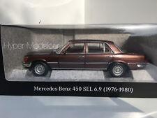 NOREV 1/18 Mercedes Benz S-Class 450 SEL 6.9 (W116) 1976 Bronze Met.  B66040643