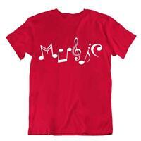 Music Letters T-Shirt Unisex Cool Design Tee Teacher Joke Shirt