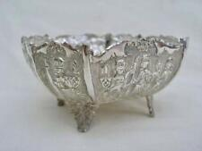 Superb 20thC Middle Eastern Silver Hand Chased & Engraved Bowl.