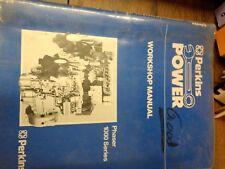 Perkins Power Service Workshop Manual Phaser 1000 Series