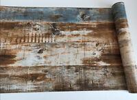 Shiplap Peel & Stick Wood Grain Wallpaper Self-Adhesive Contact Paper Wallpaper