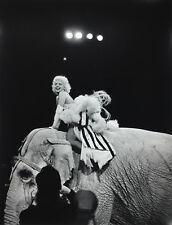 Erika STONE: Marilyn Monroe, Circus, NYC, 1955 / Silver / PHOTO LEAGUE / SIGNED!