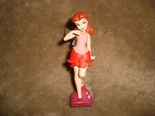 "Disney Faires Tinkerbell Friend Rosetta Fairy Figure Plastic 3.5"""