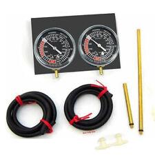 Vacuometro Bilanciere Nero Connettori Strumentazione Moto per Carburatore