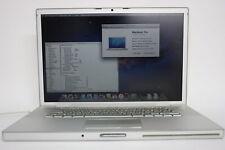 "15.4"" Apple Macbook Pro A1226 Laptop Core 2 Duo 2GB RAM 500GB HDD FAULTY BATTERY"