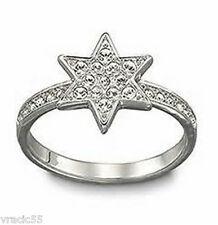 New Authentic Swarovski Pleasure Star Ring size 8 / L /58