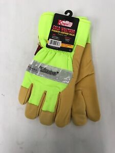 Kinco 1939-XL Heatkeep Lined Pigskin Leather Visibility Glove, XL