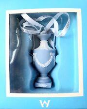New ListingWedgwood Jasperware Blue Urn Christmas Holiday Ornament New in Box
