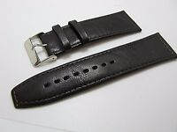 Bovine calf Italian leather 26mm watch band soft smooth