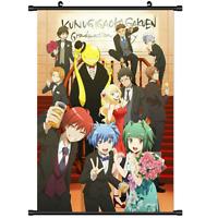 3025 Hot Anime Ansatsu Kyoushitsu Assassination Classroom Wall Poster Scroll A