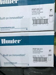 HUNTER PGP ULTRA PROFESSIONAL LAWN SPRINKLERS PRE-INSTALLED NOZZLES CASE OF 20