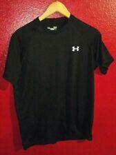 Under Armour Heat Gear Black Men's Size Small Short Sleeve Shirt