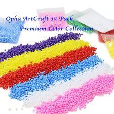 12 Colors Styrofoam Foam Balls for Slime Styrofoam Beads Polystyrene DIY + Gift
