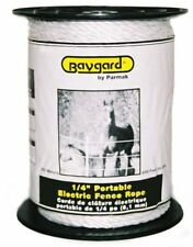 Baygard Electric Fence 1/4-Inch White Rope, 656 Feet Model 795
