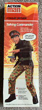 VINTAGE ACTION MAN TALKING COMMANDER  BOXED PALITOY