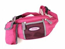 Ladies Hot Pink Canvas Bum Bag By Jeep With Mobile Phone Pouch New And Sealed