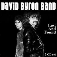 DAVID BAND BYRON - LOST AND FOUND 2 CD NEU