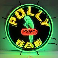 "Polly GAS Vintage Neon Sign 24""x24"""