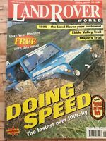 Land Rover World Magazine #35 - January 1997 - Fastest ever Hillrally