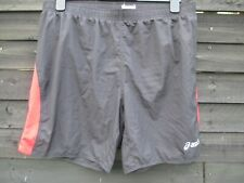 Asics Athletics Running Shorts - Black + Red Stripes - SIZE XXL / W38 Mens 2XL
