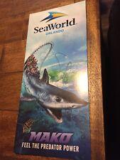 Sea World Orlando Florida Brochure - New