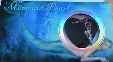 Mermaid Pearl- Mermaid Necklace & Pendant- genuine pearl in oyster- pretty box