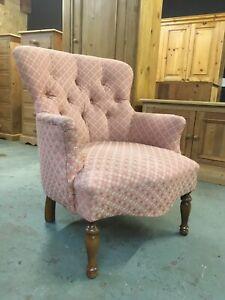 button back nursing chair, Arm Chair, Bedroom Chair