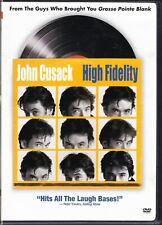 High Fidelity Dvd John Cusack Jack Black