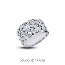 Diamonds 950 Plat. Classic Right Hand Ring 1 1/2ct F Vs1 Round Natural Certified