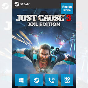 Just Cause 3 XXL Edition for PC Game Steam Key Region Free