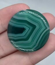 30x30mm Green Agate pendant Gemstone Beads With Drill Hole