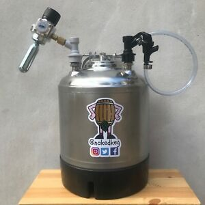 AEB Corny Cornelius Keg 10L Refurbished Ball Lock Party Tap Mini Regulator