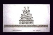 Legnaia di Efestione, Grecia Incisione del 1850 L'Univers pittoresque