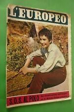 L'Européen 1956 Jean Simmons + Orientable Italie Général Noble + Soraya + A.