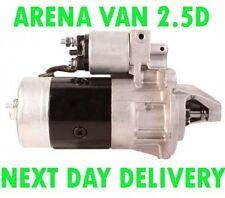 VAUXHALL ARENA VAN 2.5D 1998 1999 2000 2001 BRAND NEW STARTER MOTOR