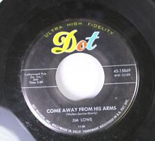 Pop 45 Jin Lowe - Come Away From His Arms / Play Number Theven On Dot