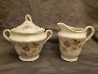 Theodore Haviland New York, Made In America, HELENE, Creamer & Sugar Set.  MINT!