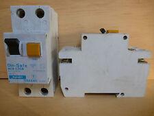 NHPDIN-SAFE MCB C20ANHP TERASAKI MCB/RCD SAFETY SWITCH C20A 240V 20A
