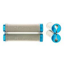 Chromag Basis Lock Grips 142mm Gray/Blue