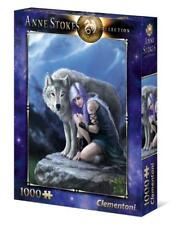 Wolf Puzzle 1000 Pieces Protector Anne Stokes Fantasy Jigsaw Clementoni