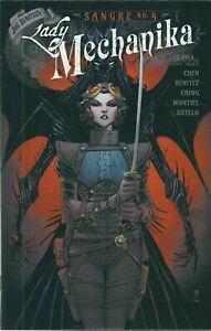 """LADY MECHANIKA : SANGRE # 4 !!!  COVER """"B""""  VF/NM"""